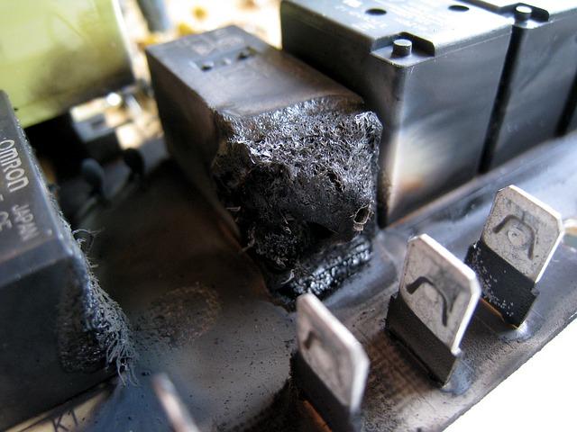 Free relay electromechanical relay burnt relay burnt