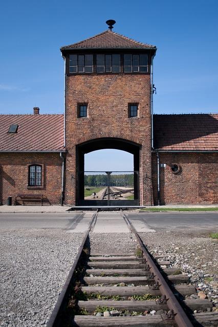 Free auschwitz birkenau holocaust poland building