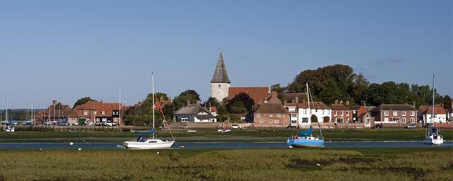 Free bosham harbour west sussex england church quay