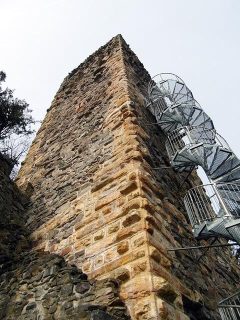 Free ruin tower view wieladingen murg valley