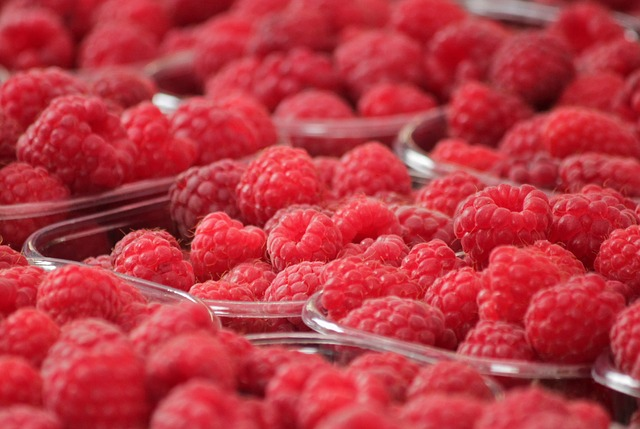 Free                raspberries fruits berries fruit red food berry