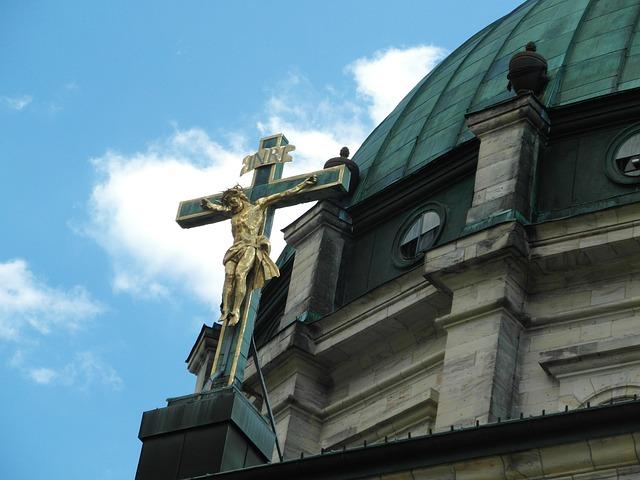 Free cross church st blasien black forest dom think