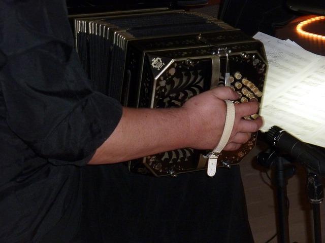 Free music musician bandoneon tango argentino instrument