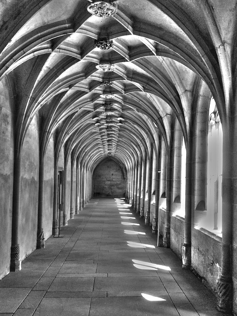 Free building architecture vault cloister monastery