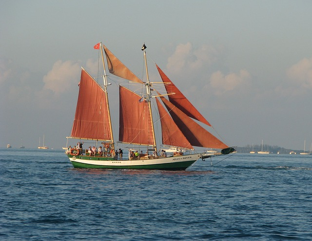 Free schooner ocean sea boat sailboat nautical ship