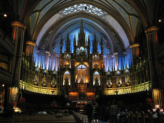 Free church cathedral montreal religion city famous