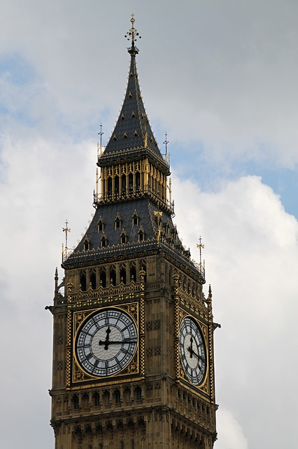 Free big ben tower england landmark clock