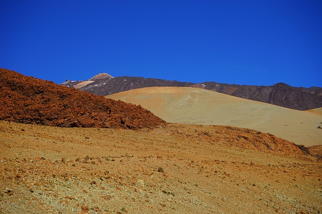 Free lunar landscape pumice stone desert mountain