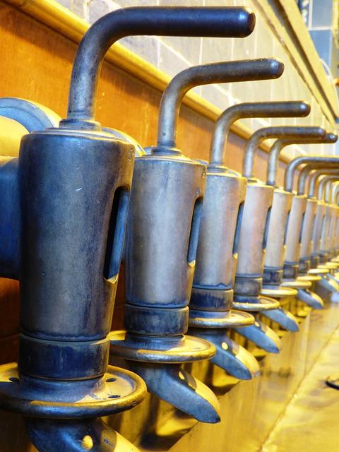 Free nozzle pourers machine line production beer