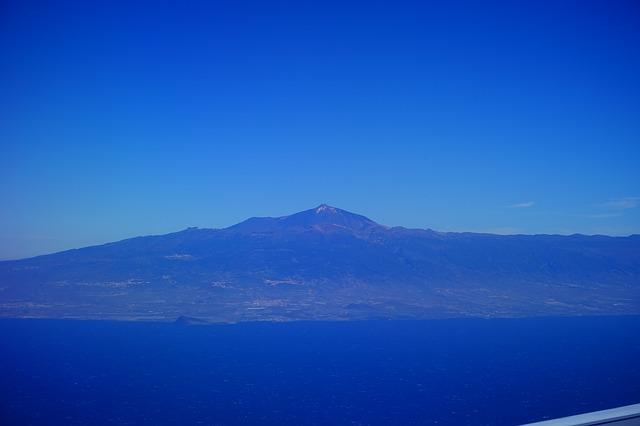 Free tenerife teide mountain volcano pico del teide