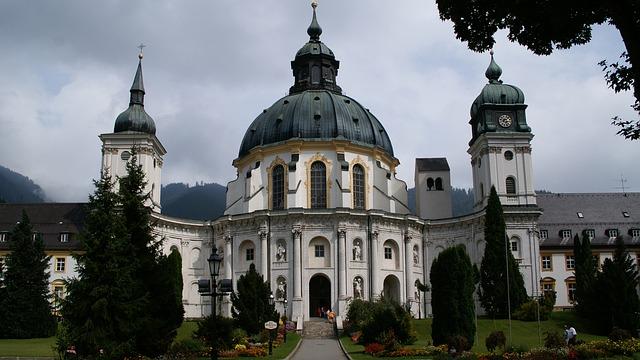 Free ettal monastery church monastery church baroque