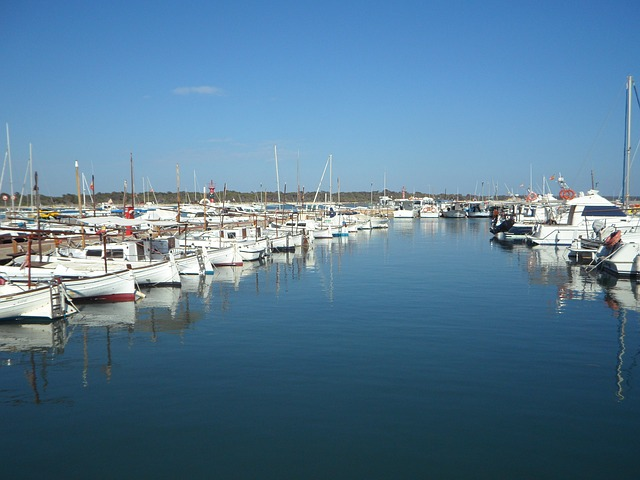 Free Photos: Marina colonia de jordi mallorca port boats | M W