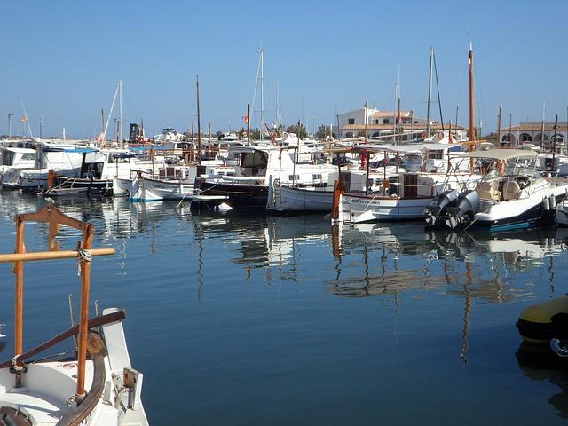 Free marina port sailing boats yachts holiday ships