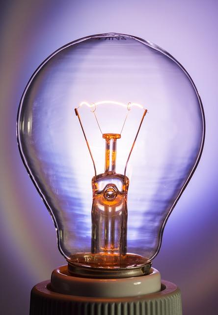 Free light bulb glow lamp immediately tungsten