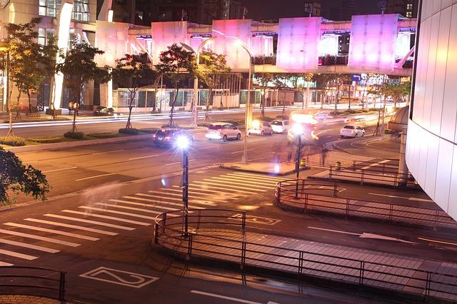 Free night view 燈 street