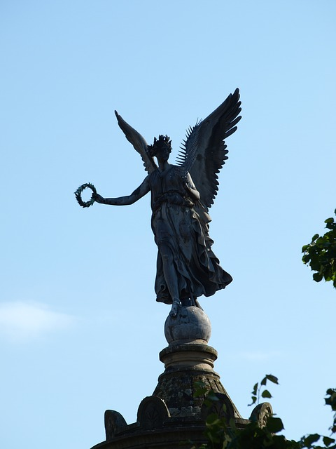 Free siegburg germany siegessäule angel sky