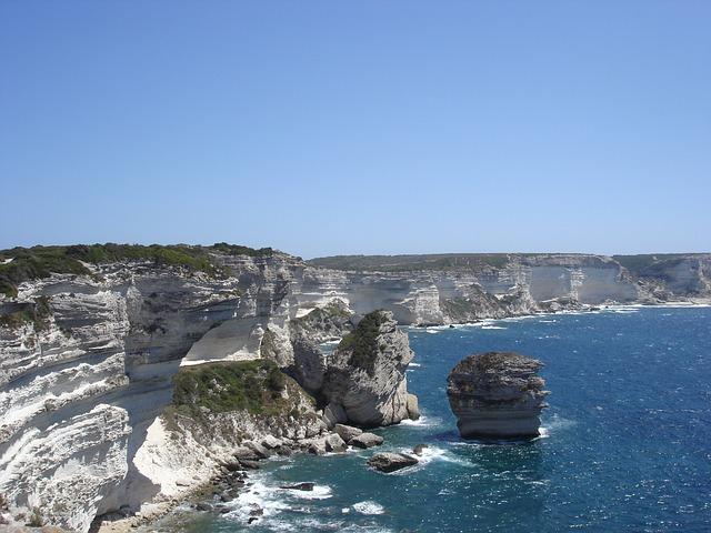 Free bonifacio strait of bonifacio corsica sea costa
