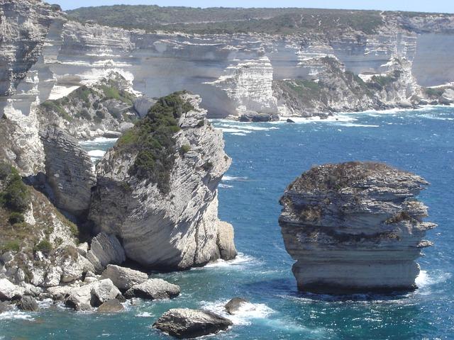 Free bonifacio strait of bonifacio corsica sea