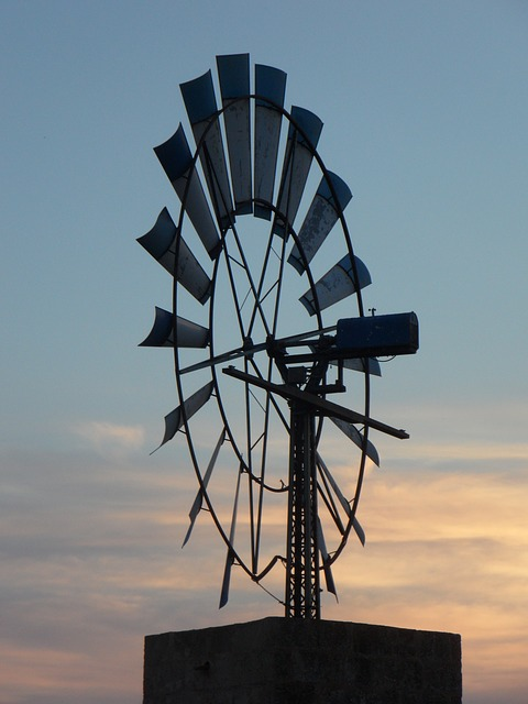 Free pinwheel wind energy mallorca metal wind energy