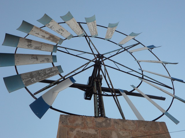 Free pinwheel wind energy mallorca metal wheel wind