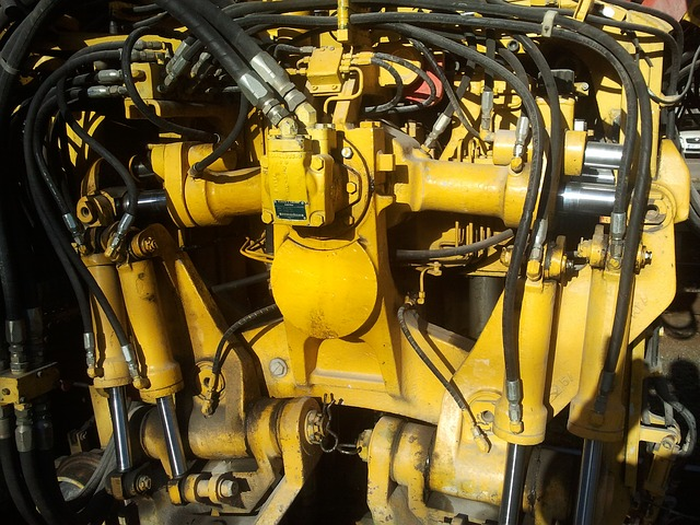 Free machine hose yellow