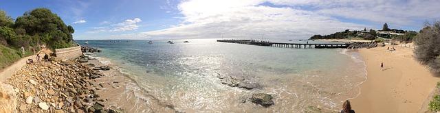 Free ocean panorama sea beach sun sunny sand