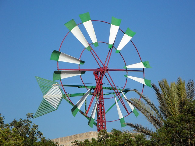 Free windmill mallorca wheel wind landmark wind power