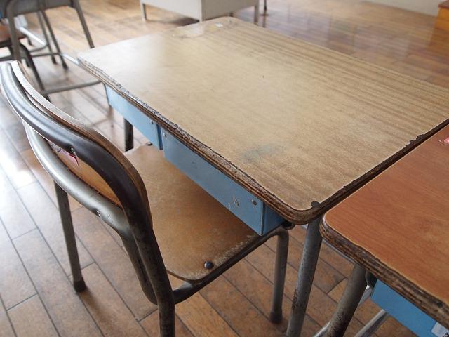 Free school desk study memories classroom