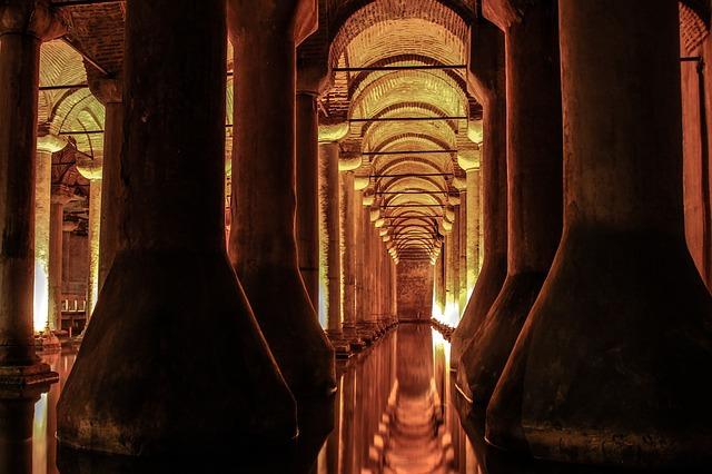 Free cistern istanbul basilica cistern architecture