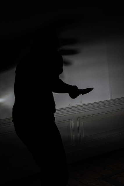 Free knife murder fear voltage attack suspected night