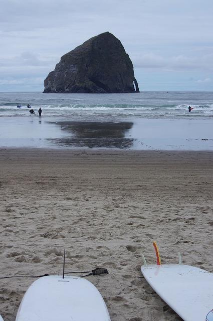 Free surf surfboard rock scenic landscape seascape