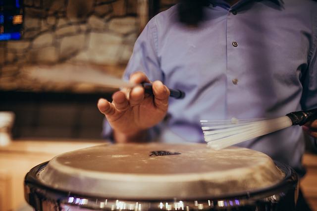 Free drummer drum drums conga brush rhythm music