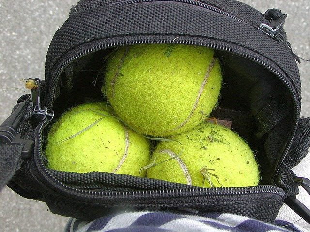 Free ball game tennis the movement of summer used