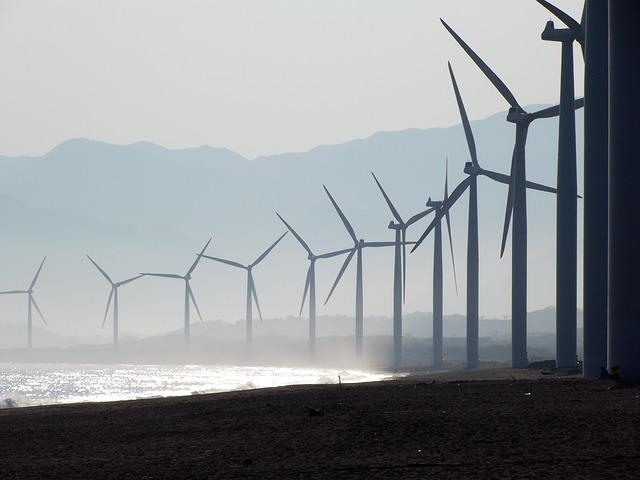 Free beach wind farm bangui ilocos norte