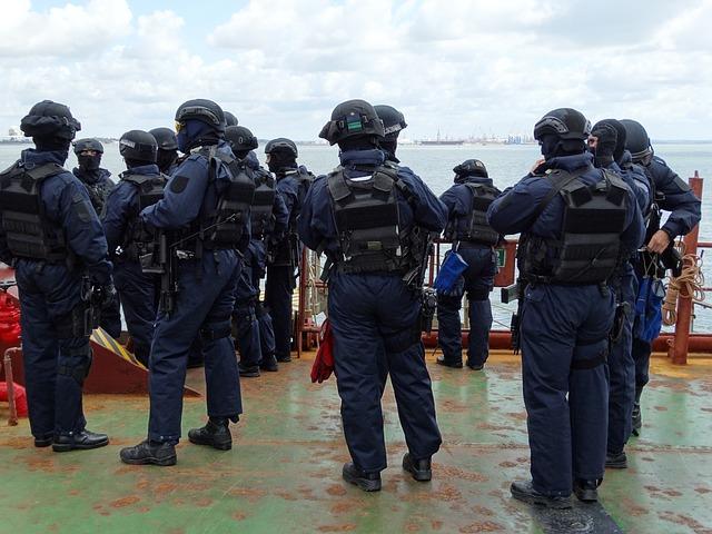 Free police anti-terrorist team