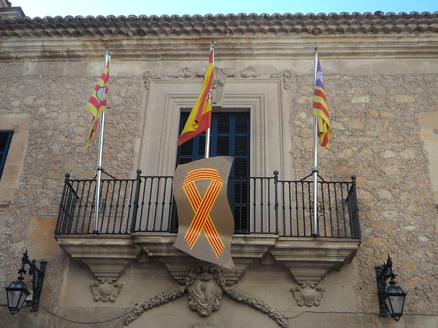 Free town hall manacor flags spain flag mallorca