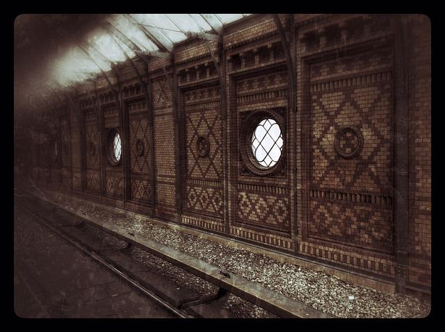 Free railway station s bahn architecture tracks berlin