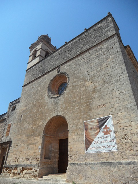 Free petra church mallorca monumental architecture