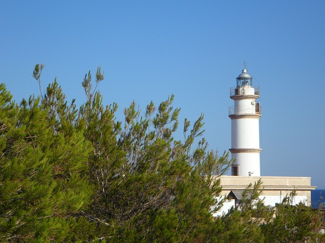 Free lighthouse tower beacon architecture building