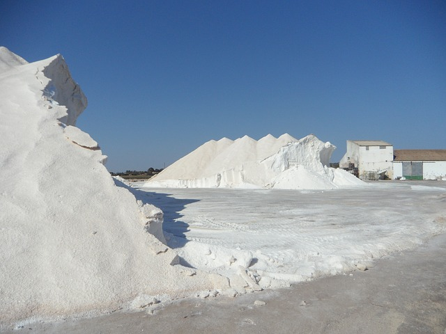 Free salt salzberg salt mountain white salt pans