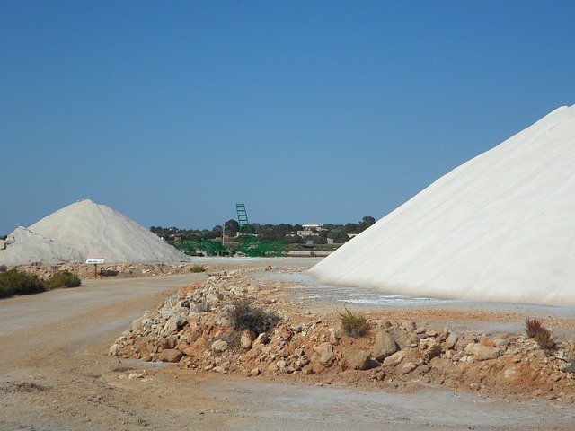 Free salt salzberg salt mountain white salt pans
