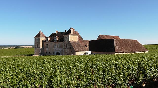 Free château de clos de vougeot burgundy france blue sky
