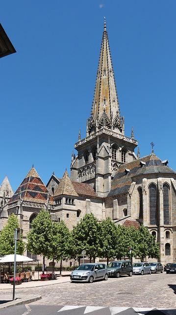 Free autun church former history buildings burgundy