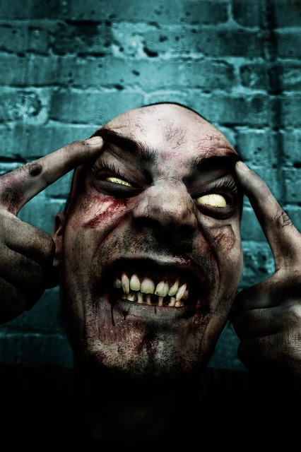 Free zombie horror scary fear undead nightmare terror