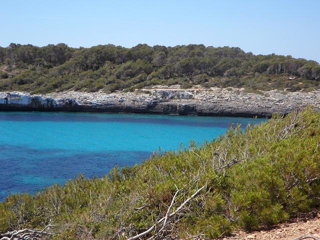 Free mediterranean coast holiday sea nature mallorca