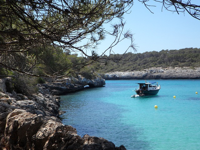 Free mediterranean coast holiday sea nature mallorca