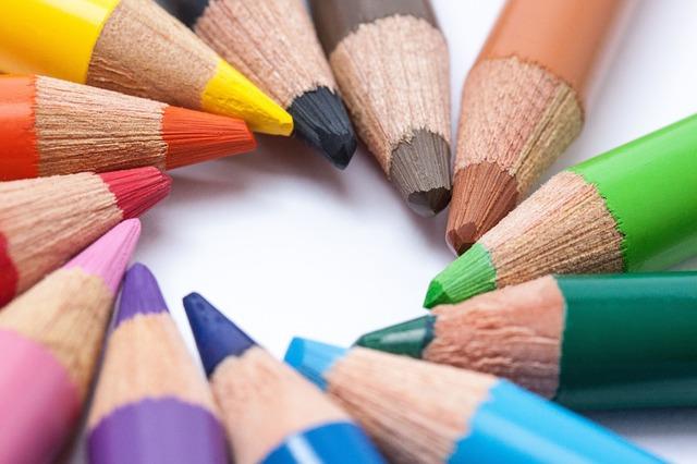 Free Photos: Colored pencils colour pencils star color circle | Stefan Schweihofer
