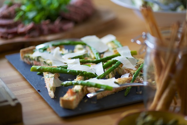 Free appetizer food asparagus party delicious