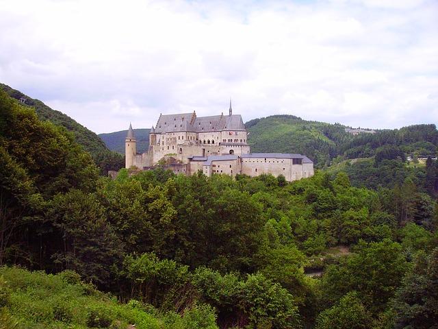 Free closed vianden luxembourg border region