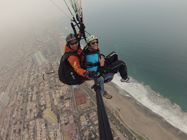 Free paragliding motivation fly
